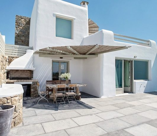 Spacious Sea View Villa in Kalafatis Mykonos 16