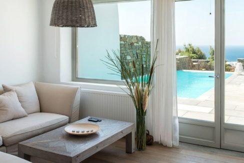 Spacious Sea View Villa in Kalafatis Mykonos 20