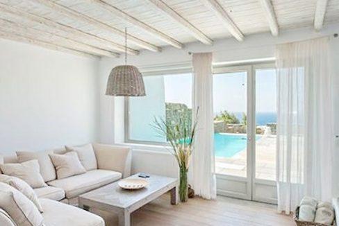Spacious Sea View Villa in Kalafatis Mykonos 8