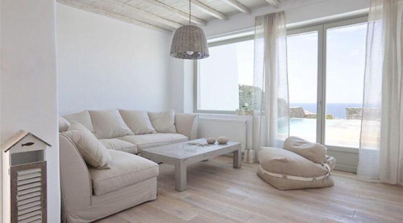 Spacious Sea View Villa in Kalafatis Mykonos 9