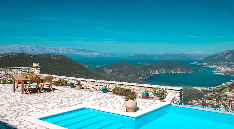 Villa with Spectacular Sea Views in Lefkada. Property for sale Lefkada