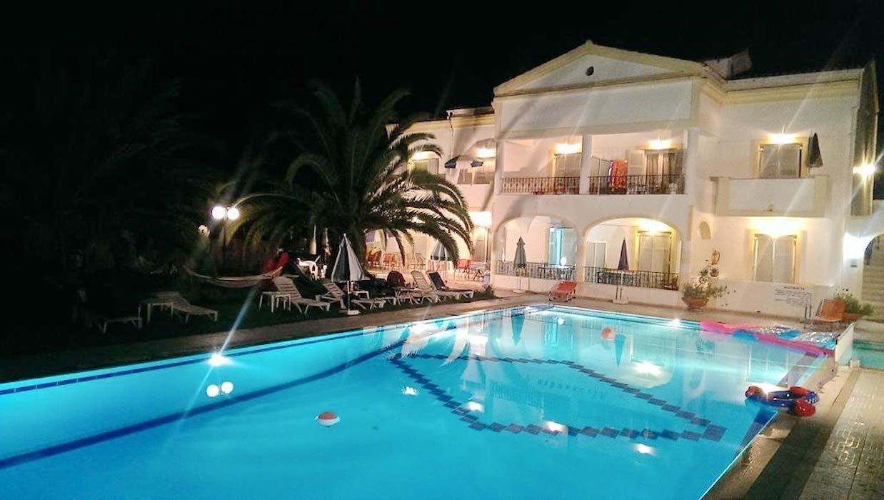 Apartments Hotel at Corfu Greece