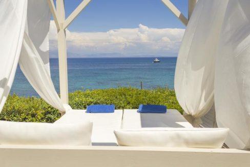 Complex of 5 small seafront villas in Corfu for sale 11
