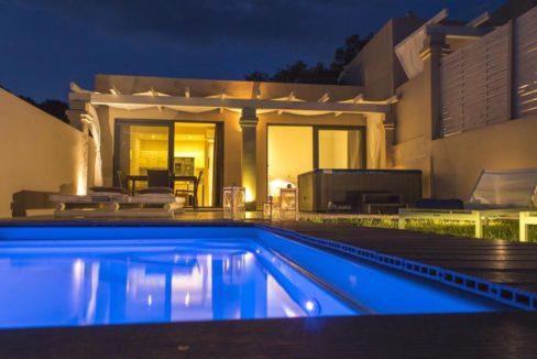Complex of 5 small seafront villas in Corfu for sale 12