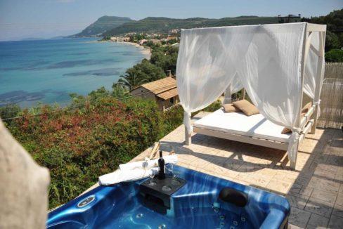 Complex of 5 small seafront villas in Corfu for sale 14