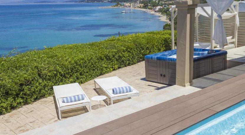 Complex of 5 small seafront villas in Corfu for sale 2