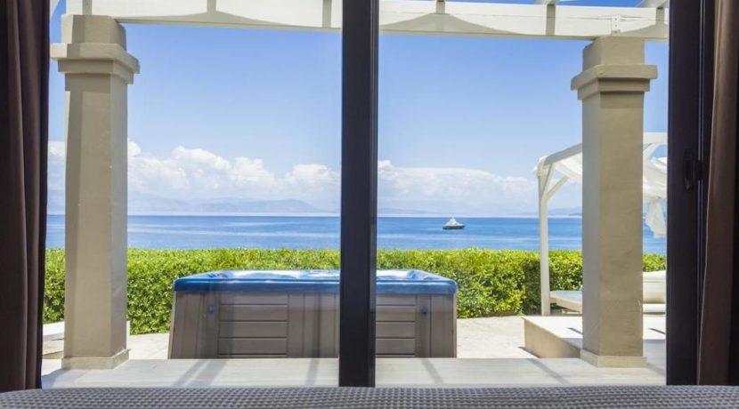 Complex of 5 small seafront villas in Corfu for sale 5