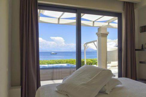 Complex of 5 small seafront villas in Corfu for sale 8