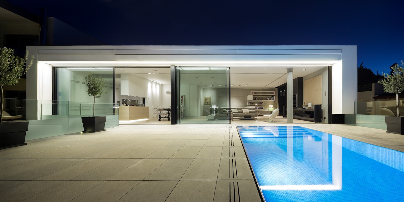 New super Luxury Villa at Philopapou Athens with roof top pool