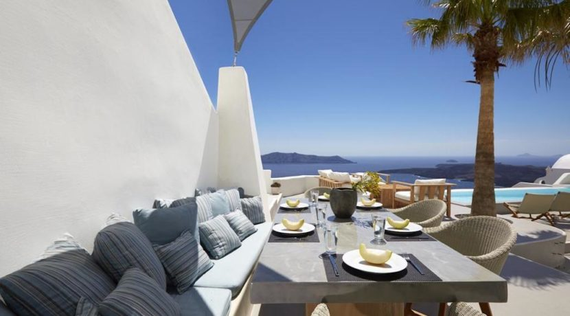 Santorini Luxury Villa for sale 12