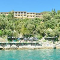 Seafront Hotel at Corfu with 90 rooms