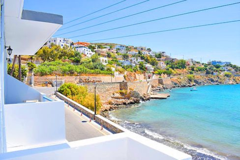 Seafront Hotel in Syros island Greece, 25 Rooms