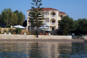Seafront Property in Zakynthos Greece, Seafront Villa Zakynthos for sale