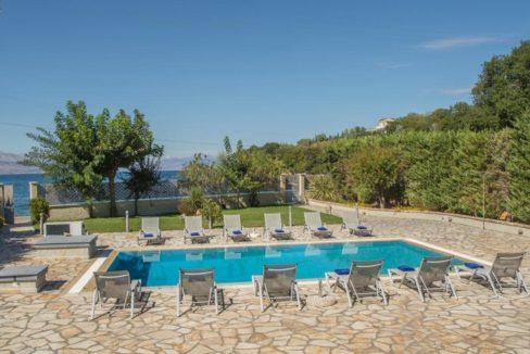 Seafront Villa in Avlaki Corfu 12