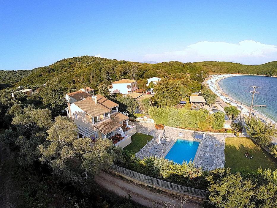 Seafront Villa in Avlaki Corfu
