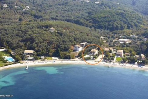 Seafront Villa in Avlaki Corfu 16