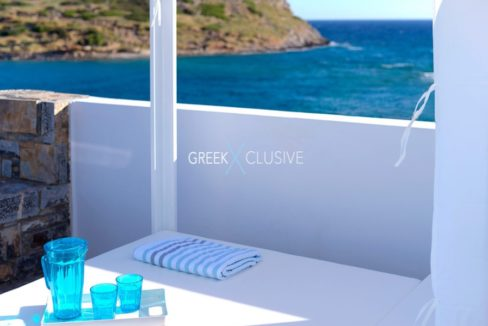 Waterfront Villa with sea view in Crete, Real Estate in Crete, Seafront house in Crete for Sale 2