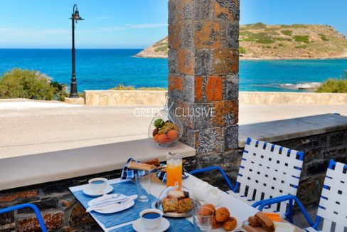 Waterfront Villa with sea view in Crete, Real Estate in Crete, Seafront house in Crete for Sale 4