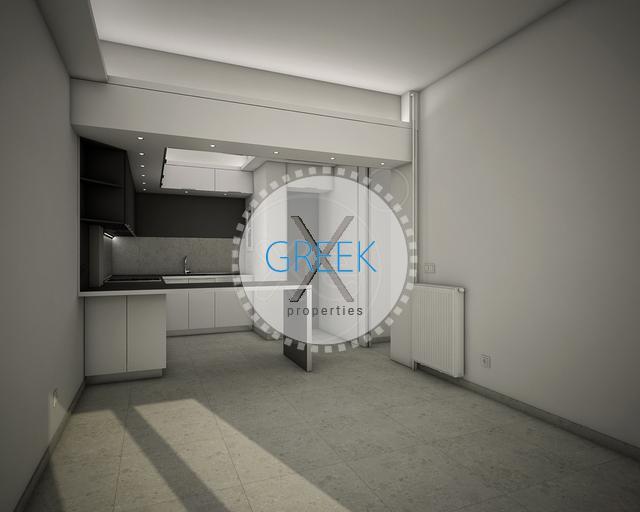 Koukaki, Apartment, 69 m2 with 2 Bedrooms for Golden Visa (2019)