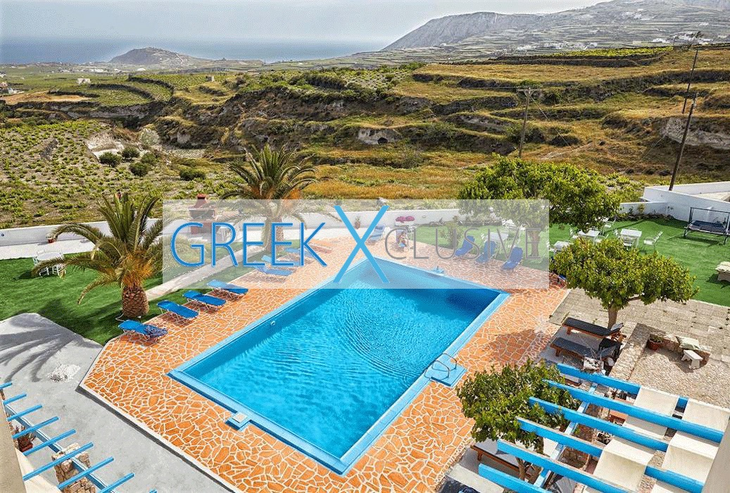 Hotel Santorini for Sale of 48 rooms (80 Beds), Pyrgos area