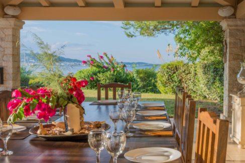 Luxury Seafront Villa for sale in Porto Heli. Property for sale in Greece beachfront, beach house for sale Mediterranean, Villa in Porto Heli 1