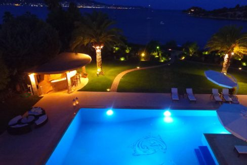 Luxury Seafront Villa for sale in Porto Heli. Property for sale in Greece beachfront, beach house for sale Mediterranean, Villa in Porto Heli 10