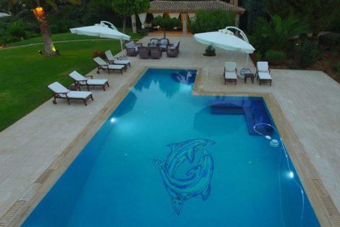 Luxury Seafront Villa for sale in Porto Heli. Property for sale in Greece beachfront, beach house for sale Mediterranean, Villa in Porto Heli 12