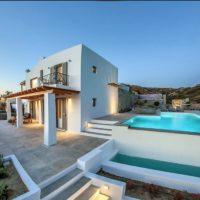 Luxury Villa in Naxos Island Greece. Luxury Villa Naxos, Naxos beach villas, Beachfront houses for sale in Greek islands