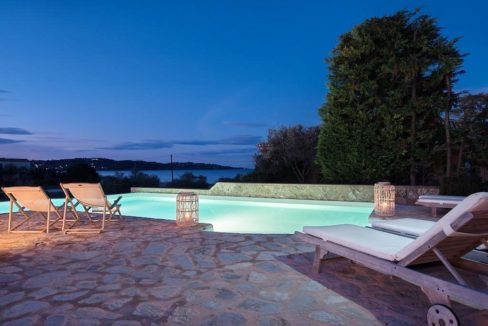 Seafront Luxury Villa in Porto Heli, Peloponnese. Beachfront houses for sale in Greek islands, Greece property for sale by the beach 1