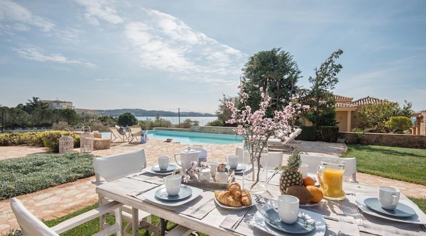 Seafront Luxury Villa in Porto Heli, Peloponnese. Beachfront houses for sale in Greek islands, Greece property for sale by the beach 6