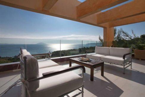 Seafront Villa Porto Heli, Peloponnese. Luxury property for sale Peloponnese, Peloponnese property for sale, Greece property for sale by the beach 16