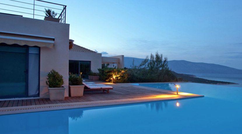 Seafront Villa Porto Heli, Peloponnese. Luxury property for sale Peloponnese, Peloponnese property for sale, Greece property for sale by the beach 5