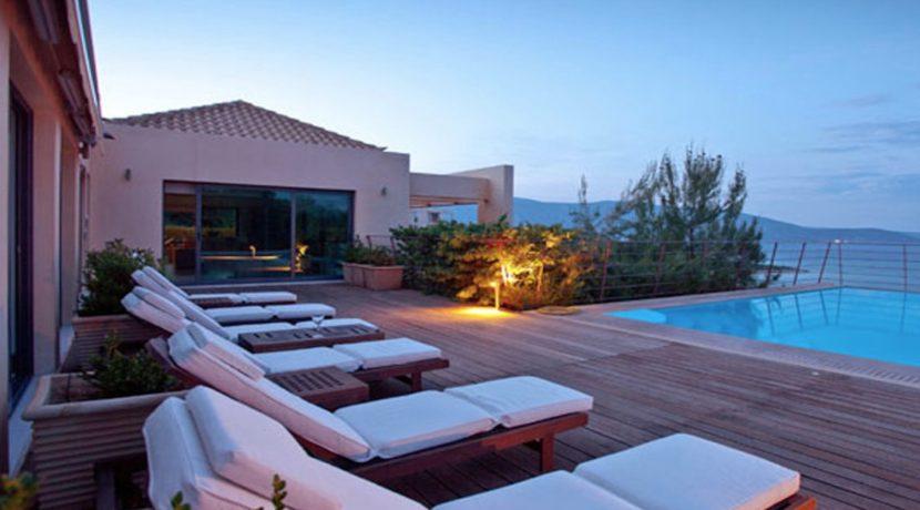 Seafront Villa Porto Heli, Peloponnese. Luxury property for sale Peloponnese, Peloponnese property for sale, Greece property for sale by the beach 6