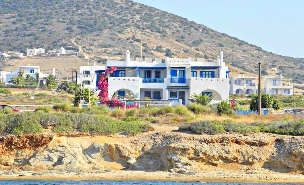 Seafront Villa in Antiparos in Cyclades Greece, Antiparos Real Estate, Antiparos Villa for Sale, Beachfront Property in Cyclades