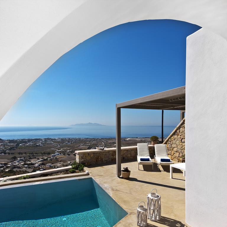 2 Luxury Villas for Sale Santorini, Exo Gonia