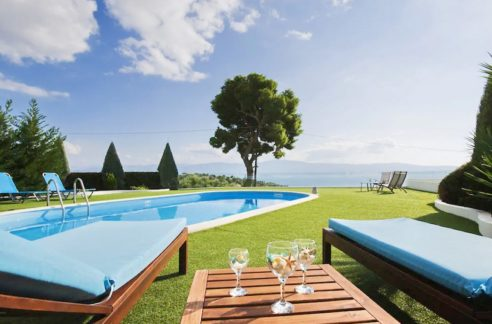 Villa with Sea View in Corinth, Near Athens. Luxury Greek Villas, Villas near Athens, Buy Holiday Villa in Greece, Sea View Greek Villas