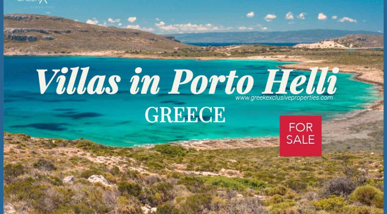 Villas for Sale Porto Heli Peloponnese Greece, Luxury Estate Porto Heli, Villa in Porto Heli