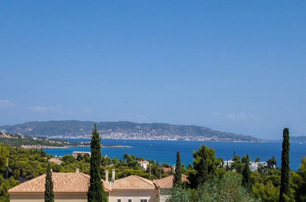 2+1 Land Plots With Unobstructed view of the island of Spetses, Porto Heli