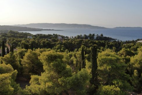 Land Plots With Unobstructed view of the island of Spetses, Porto Heli Real Estate, 3 Land Plots in Peloponnese, Land for Sale in Porto Heli