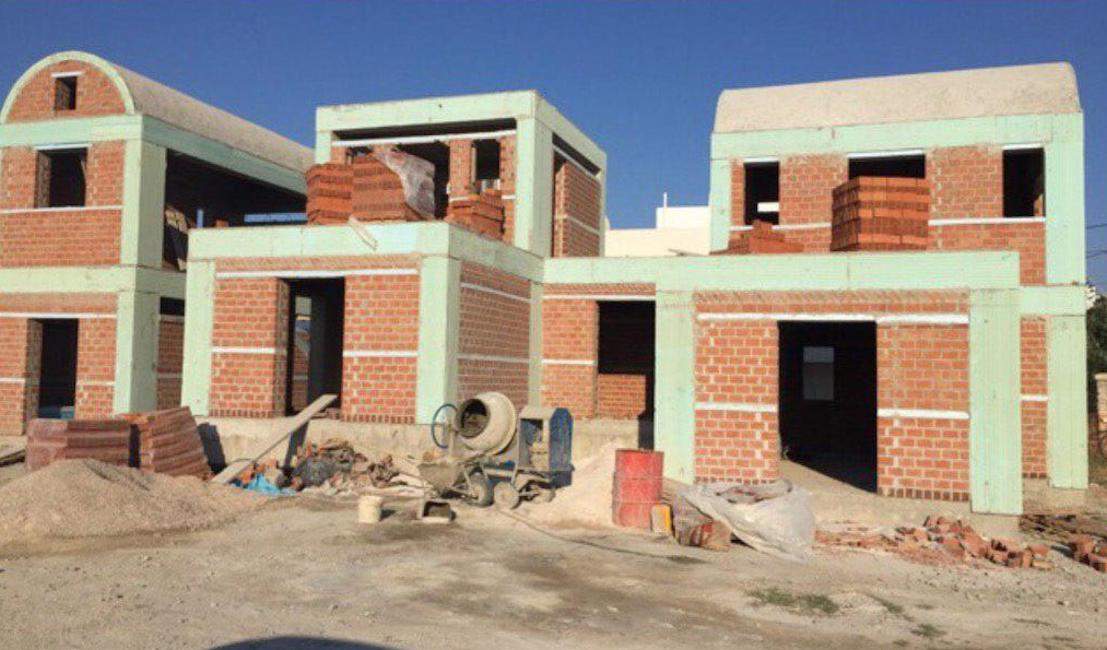 3 New Villas in Santorini, Vothonas area
