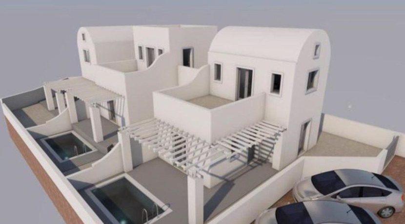 3 New Villas in Santorini, Vothonas area, Santorini property for sale, Vothonas Santorini for Sale, Property in Santorini for Airbnb 7