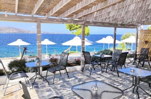 Beachfront Hotel at Aegina Island Greece, Beachfront Hotel for Sale in Greece, Aegina hotel for Sale, Greek Island small hotel for sale