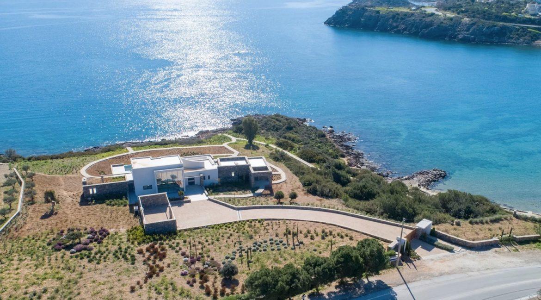 Beachfront Luxury Villa in Crete, Agios Nikolaos. Luxury Beachfront Property in Crete, Seafront Villa Crete for Sale, Luxury Estate in Crete 22
