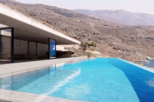 Cave Style Super Villa in Andros Island, Cyclades Luxury Villas, Luxury Estate Andros Greece, Luxury Property in Andros Greece, High End Villa in Greece