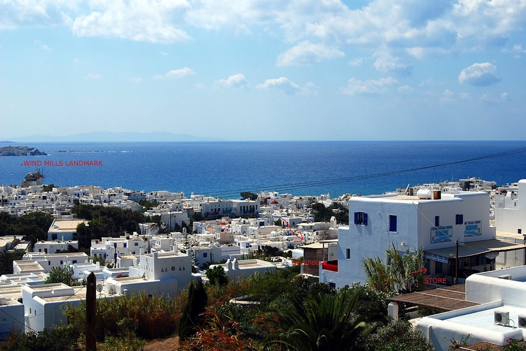 Commercial Property in Mykonos, at the busiest Road of Mykonos Town