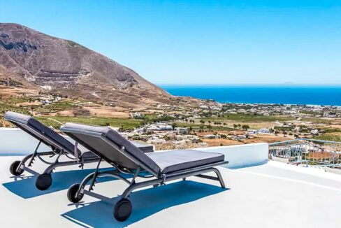House for sale in Santorini Pyrgos, with sea view, Real Estate in Santorini