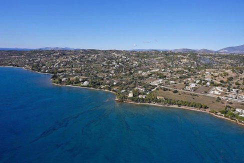 Land in Porto Heli for Sale, By the Sea, Ideal to Built 1-3 Villas, Beachfront Land for Sale in Porto Heli, Seafront land to built in Porto Heli 1