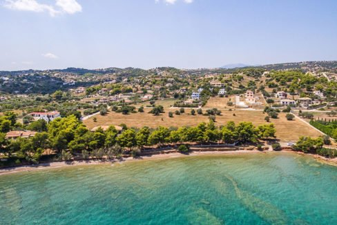 Land in Porto Heli for Sale, By the Sea, Ideal to Built 1-3 Villas, Beachfront Land for Sale in Porto Heli, Seafront land to built in Porto Heli 10