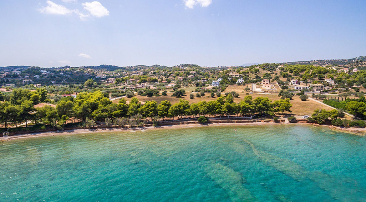 Land in Porto Heli for Sale, By the Sea, Ideal to Built 1-3 Villas, Beachfront Land for Sale in Porto Heli, Seafront land to built in Porto Heli 11