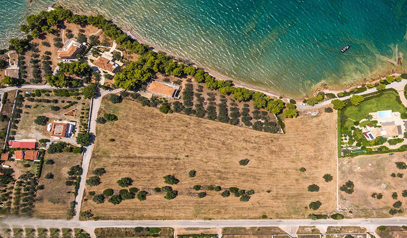 Land in Porto Heli for Sale, By the Sea, Ideal to Built 1-3 Villas,  Land is 12.000 sqm